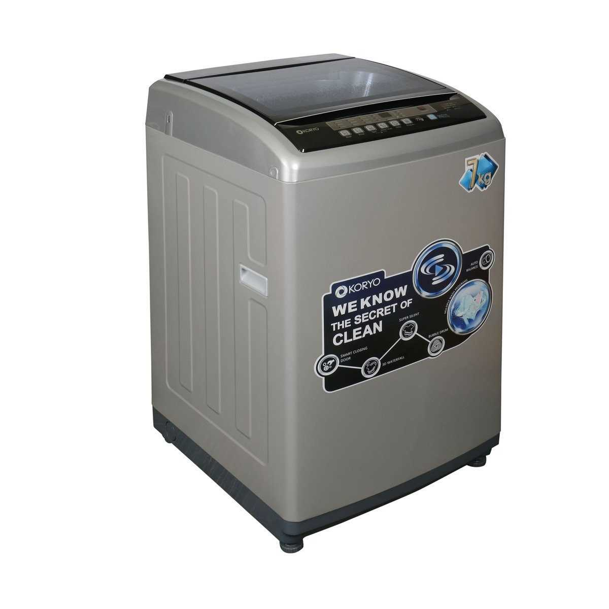 Koryo KWM7017TL 7 Kg Fully Automatic Top Loading Washing Machine