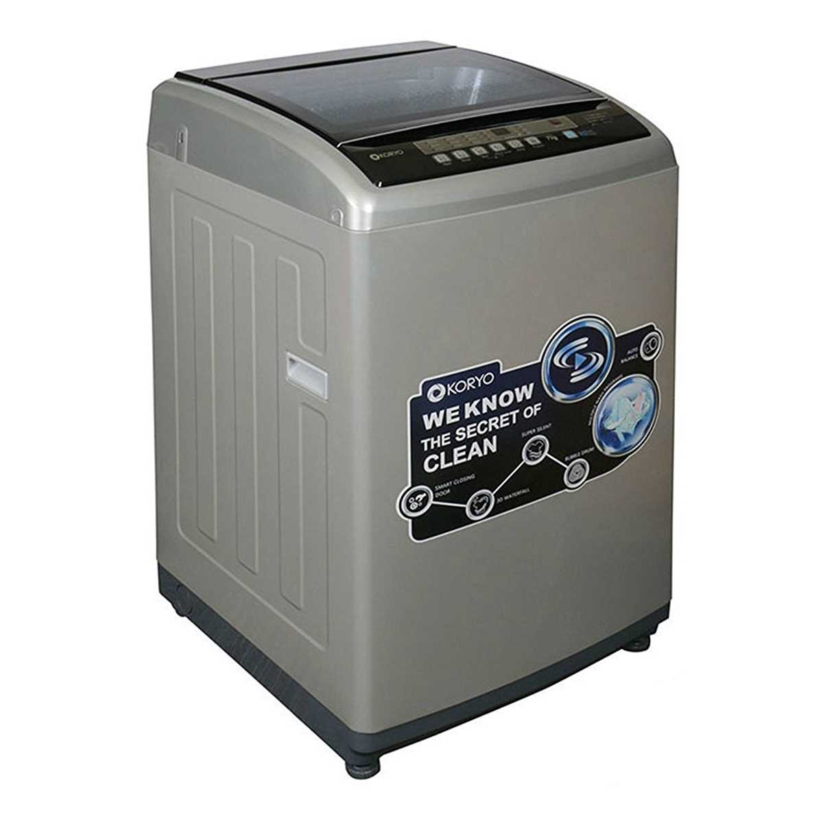 Koryo KWM8018TL 8 Kg Fully Automatic Top Loading Washing Machine