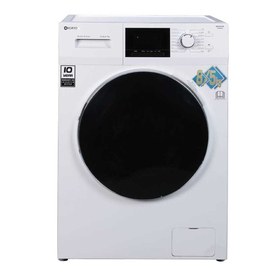 Koryo KWMD1485FLD 8 Kg Fully Automatic Front Loading Washing Machine