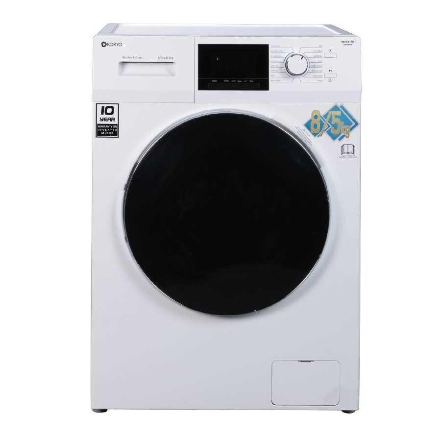 Koryo KWMD1485FLD 8 Kg Fully Automatic Front Loading Washing Machine