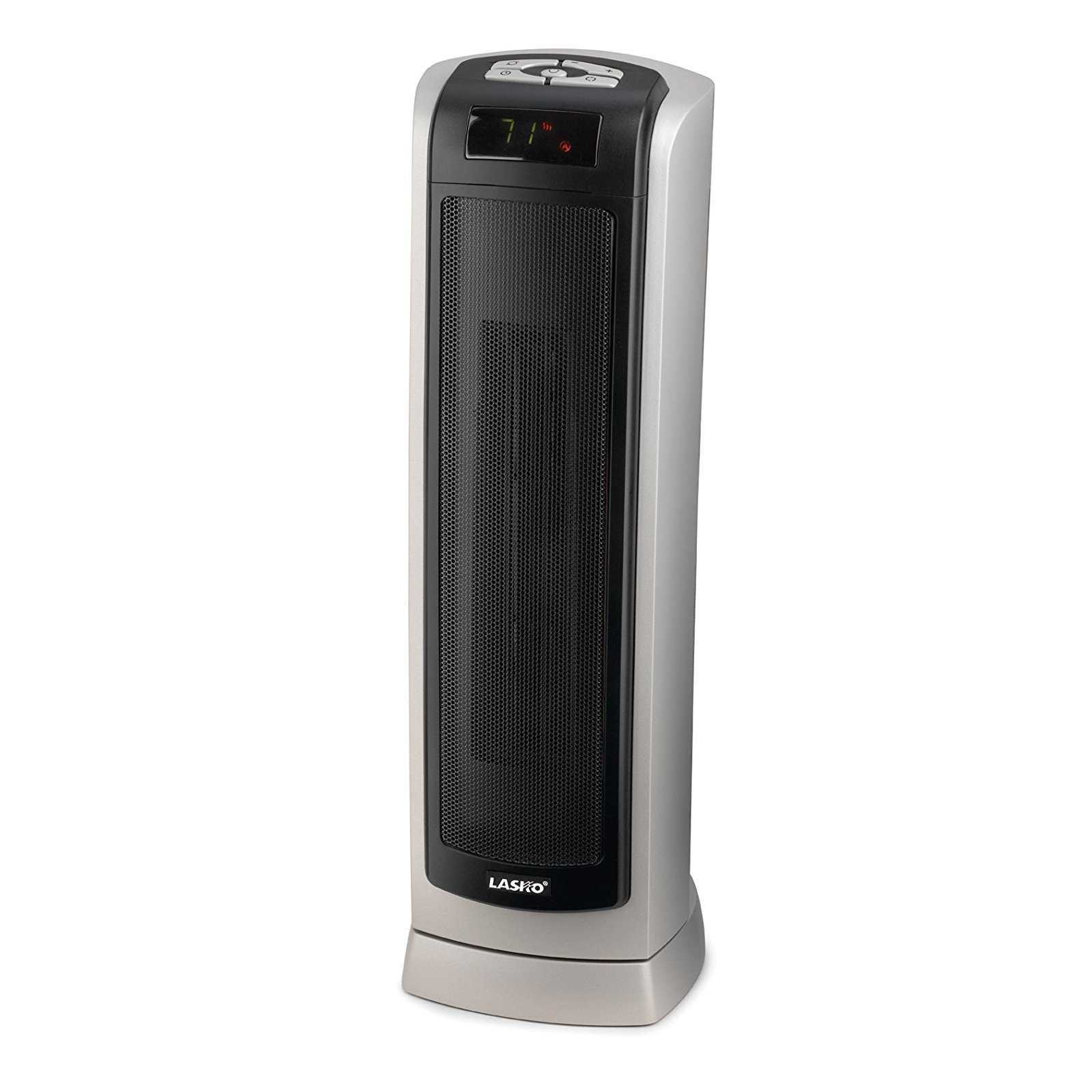 Lasko 5521 Digital Ceramic Tower Heater