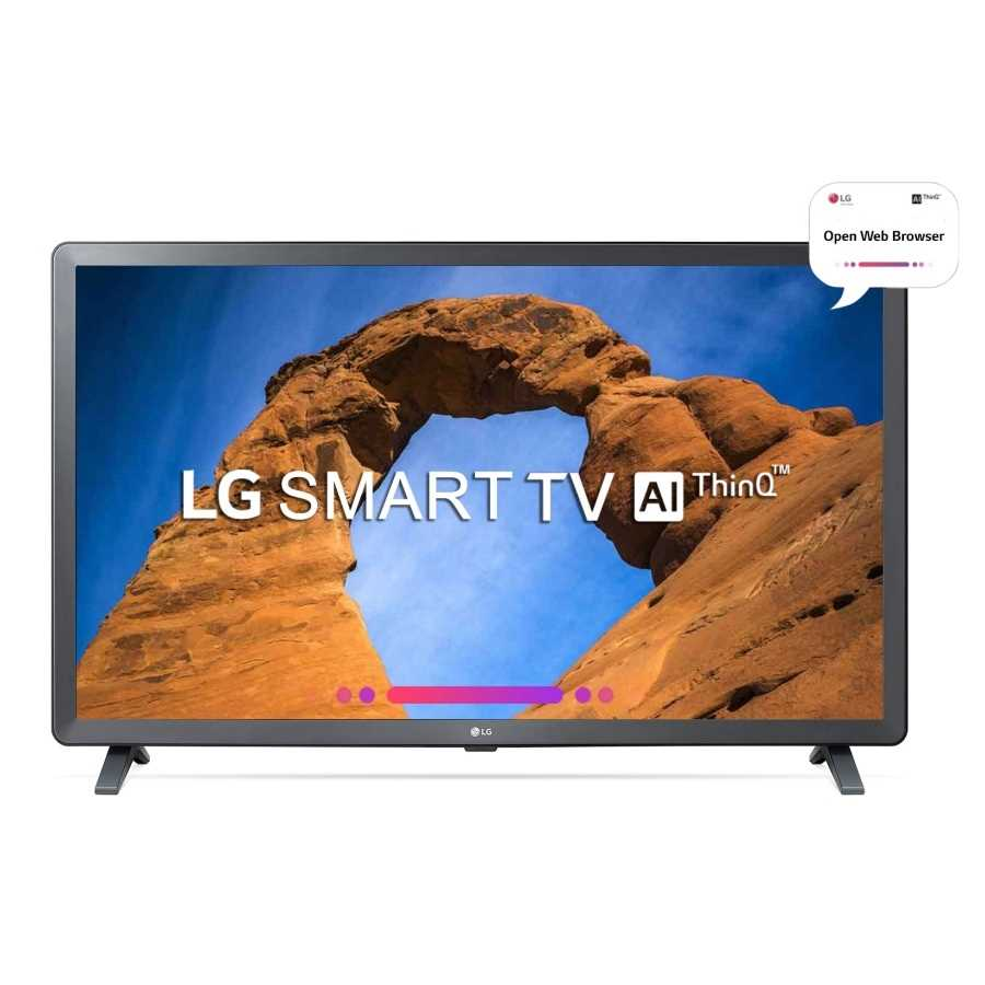 LG 32LK616BPTB 32 Inch HD Ready ThinQ AI Smart LED Television