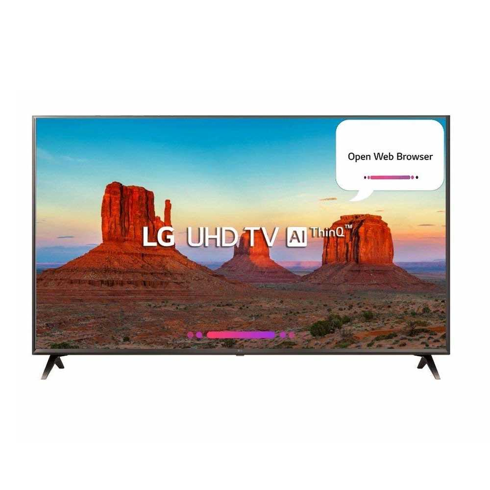LG 43UK6560PTC 43 Inch Ultra HD 4K Smart LED Television