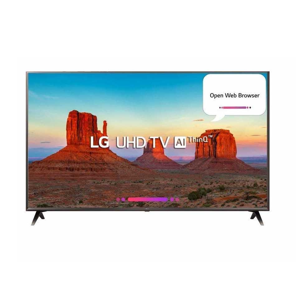 LG 55UK6500PTC 55 Inch Ultra HD 4K Smart LED Television