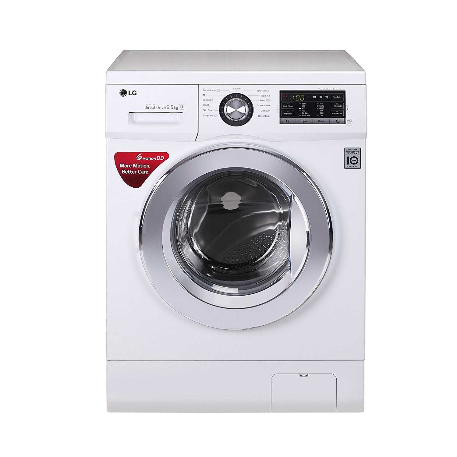 LG FH0G6WDNL22 6.5 Kg Fully Automatic Front Loading Washing Machine