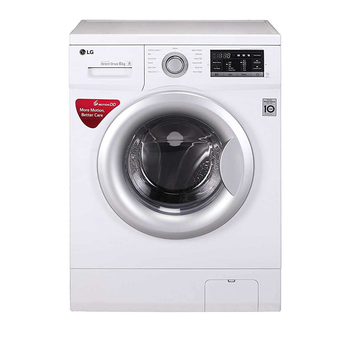 LG FH0G7WDNL12 6.5 Kg Fully Automatic Front Loading Washing Machine