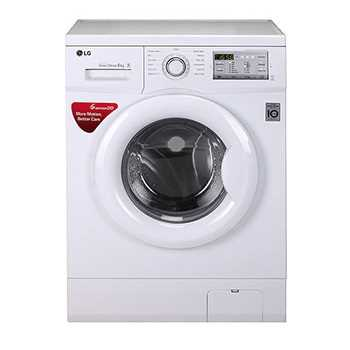 LG FH0H4NDNL02 6 Kg Front Loading Fully Automatic Washing Machine