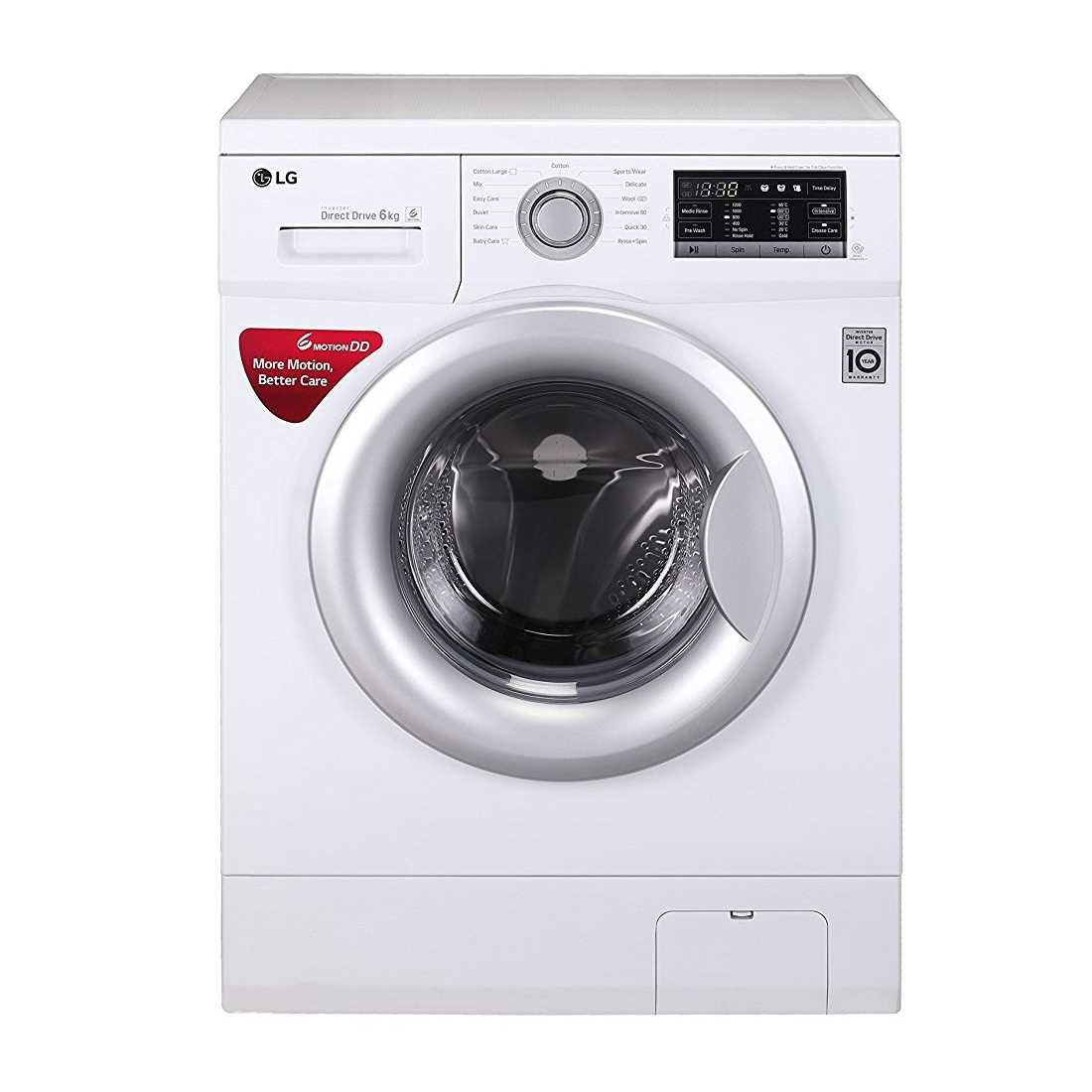 LG FH2G7NDNL12 6 Kg Fully Automatic Front Loading Washing Machine