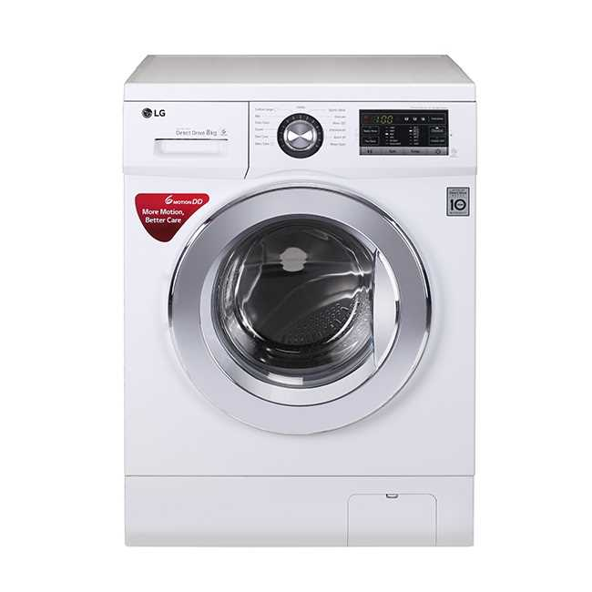 LG FH4G6TDNL22 8 Kg Fully Automatic Front Loading Washing Machine