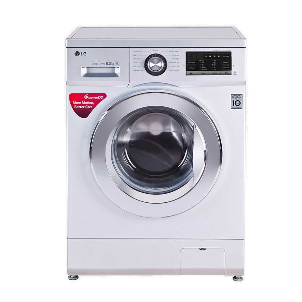 LG FH4G6TDNL42 8 Kg Fully Automatic Front Loading Washing Machine