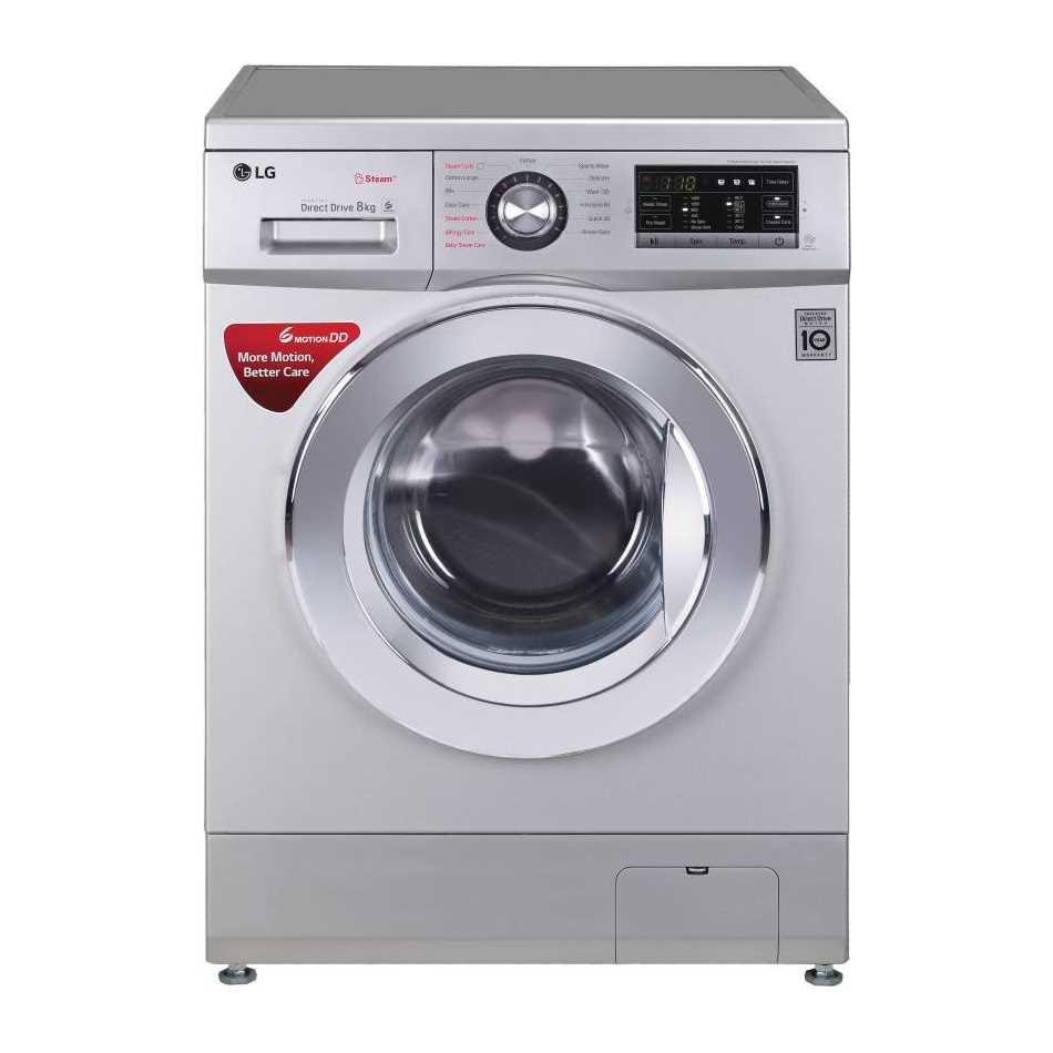 LG FH4G6TDYL42 8 Kg Fully Automatic Front Loading Washing Machine