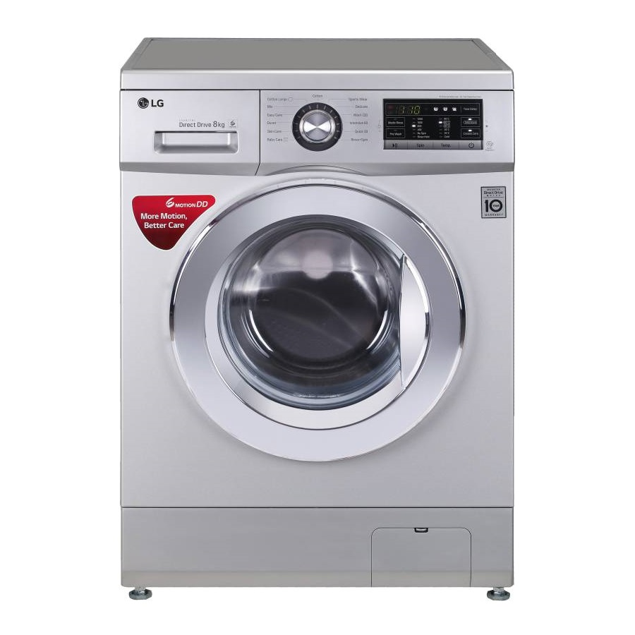 LG FHM1208ZDL 8 Kg Fully Automatic Front Loading Washing Machine