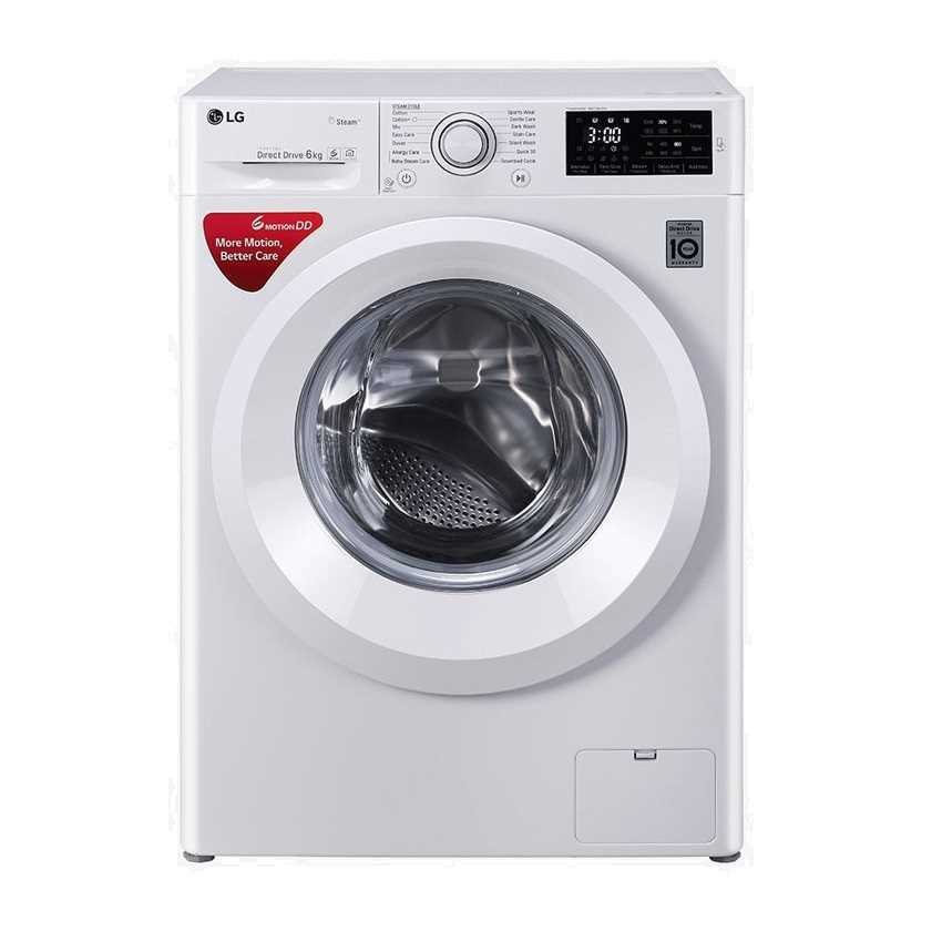 LG FHT1006HNW 6 Kg Front Loading Fully Automatic Washing Machine