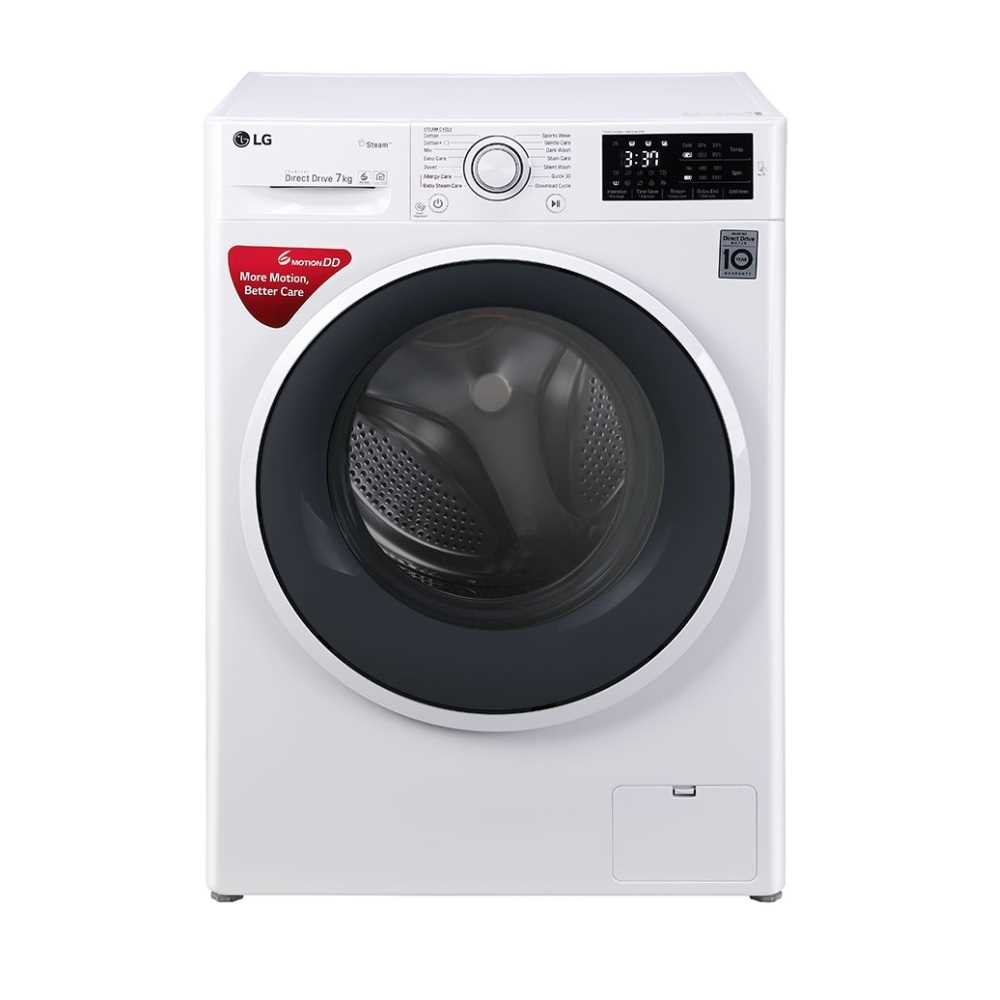 LG FHT1007SNW 7 Kg Fully Automatic Front Loading Washing Machine