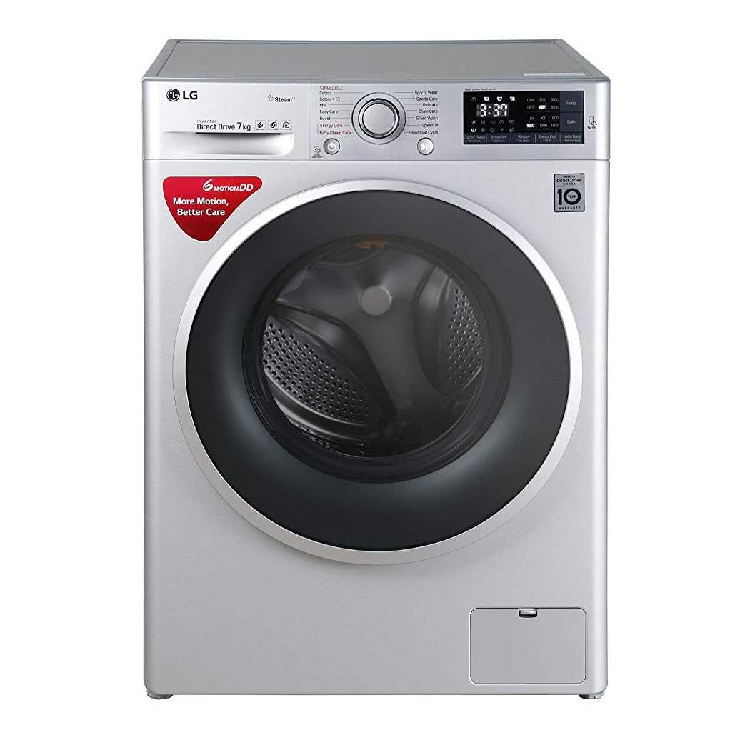 LG FHT1207SWL 7 Kg Fully Automatic Front Loading Washing Machine