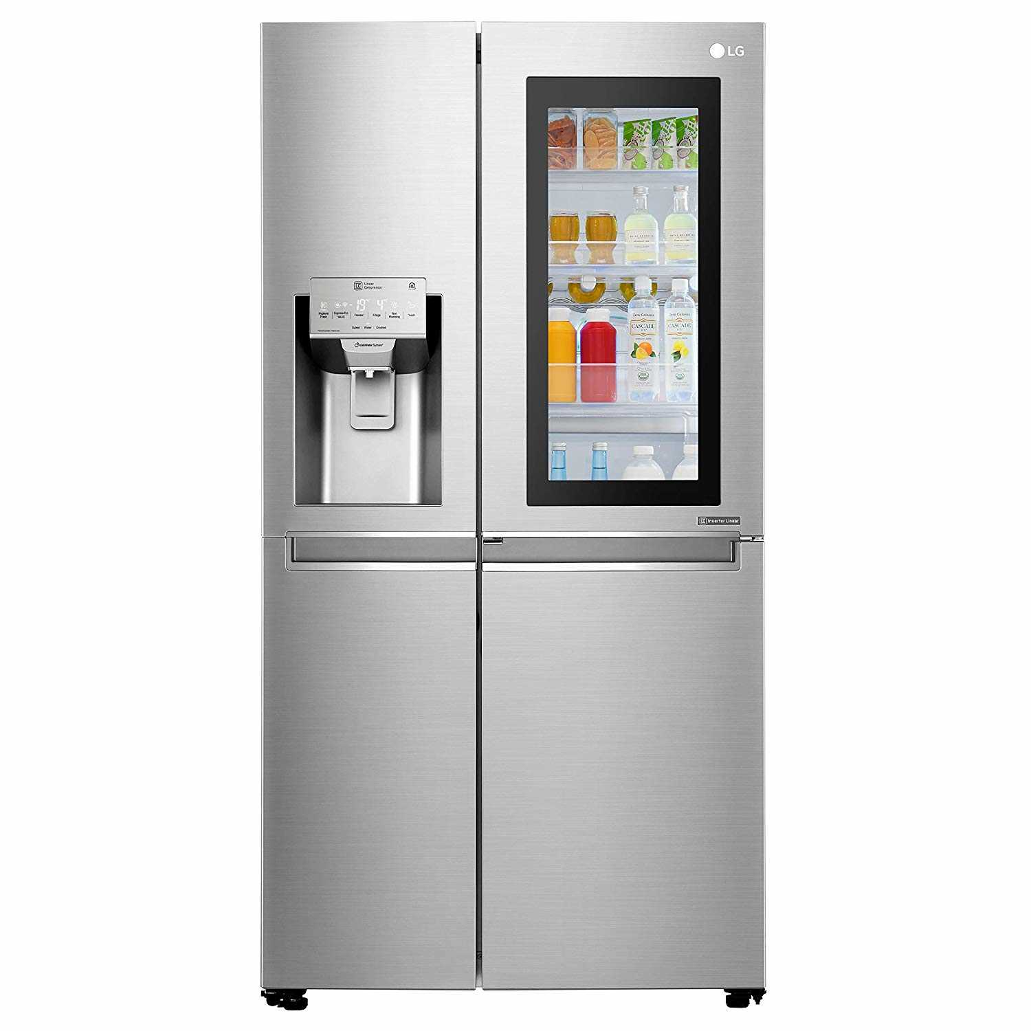 LG GC X247CSAV ANSQEBN 668 Liter Frost Free Side by Side Refrigerator