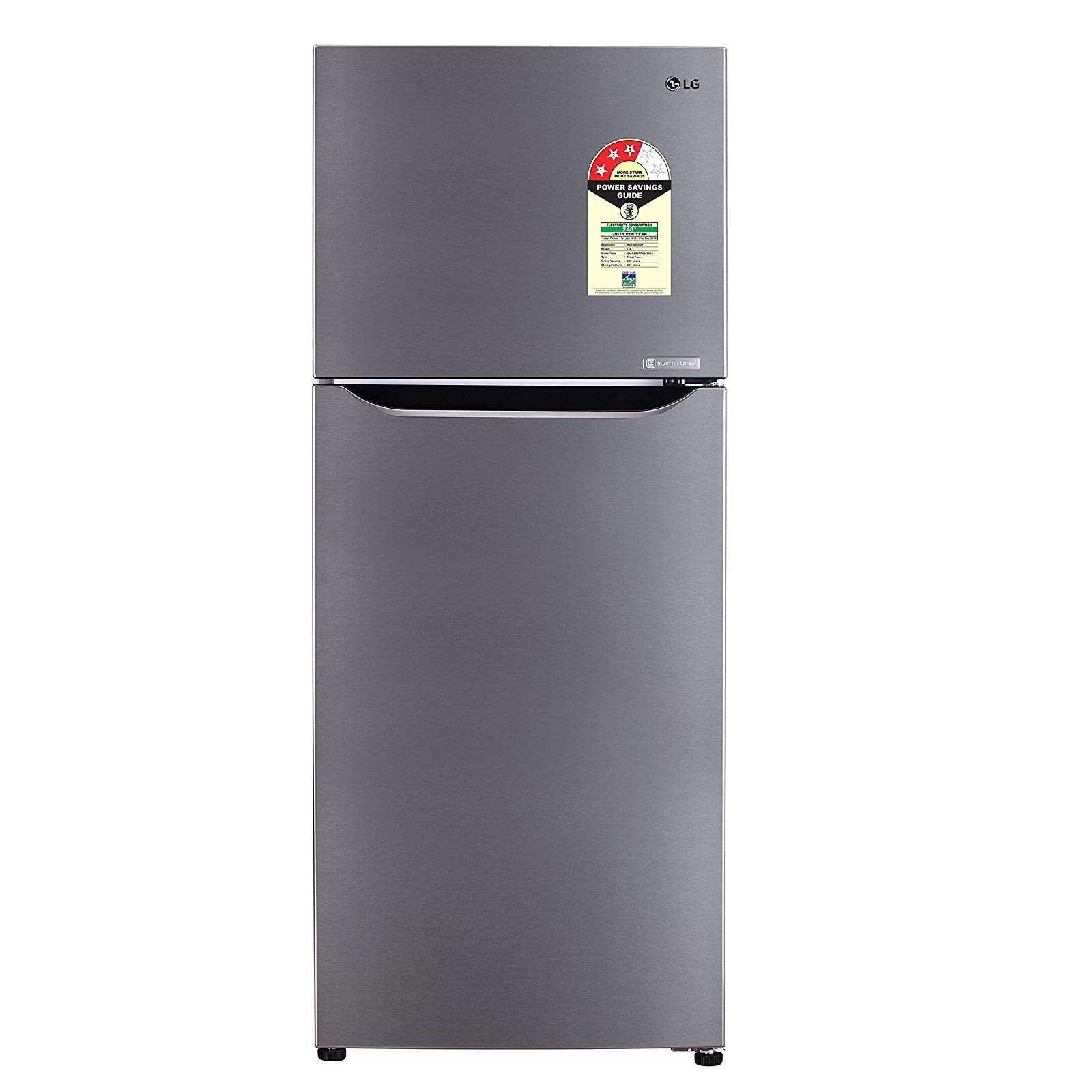 LG GL C292SPZU 260 Liter Frost Free Double Door Refrigerator