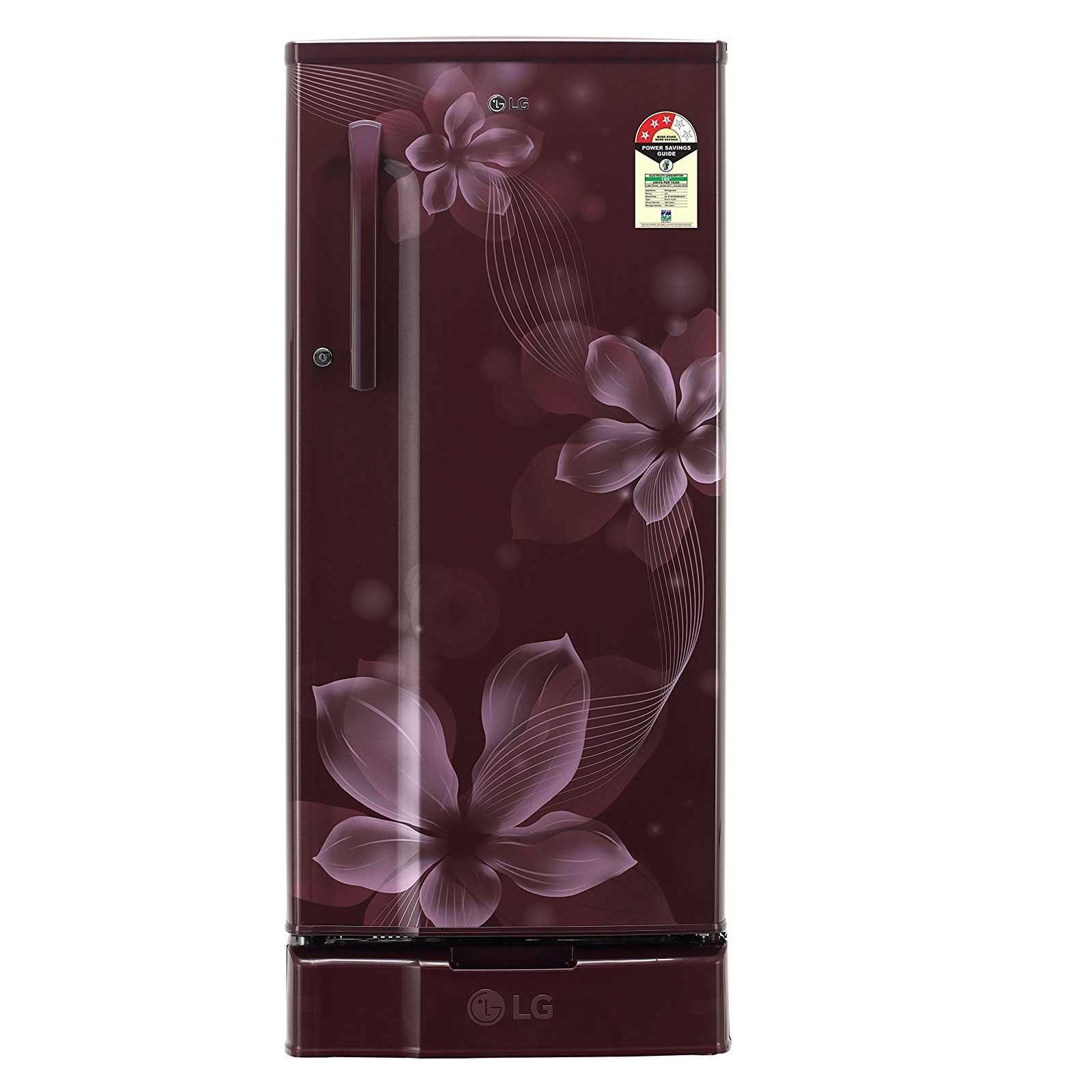 LG GL D191KSOW 188 Liter Direct Cool Single Door Refrigerator