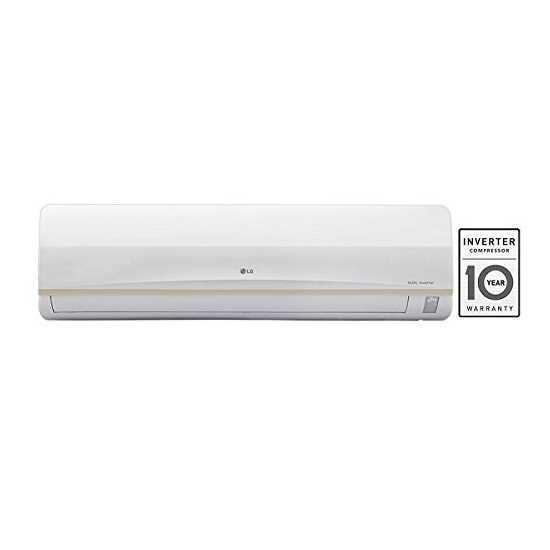 LG JS Q18PWXA 1.5 Ton 3 Star Inverter Split AC