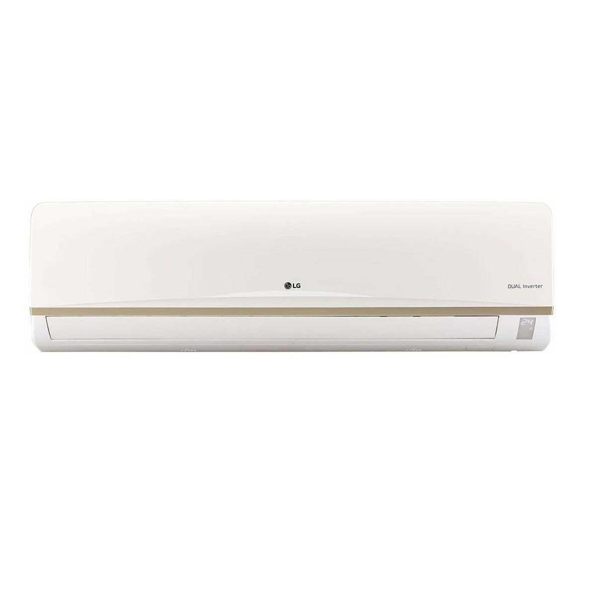 LG JS Q24AUXA1 2 Ton 3 Star Inverter Split AC