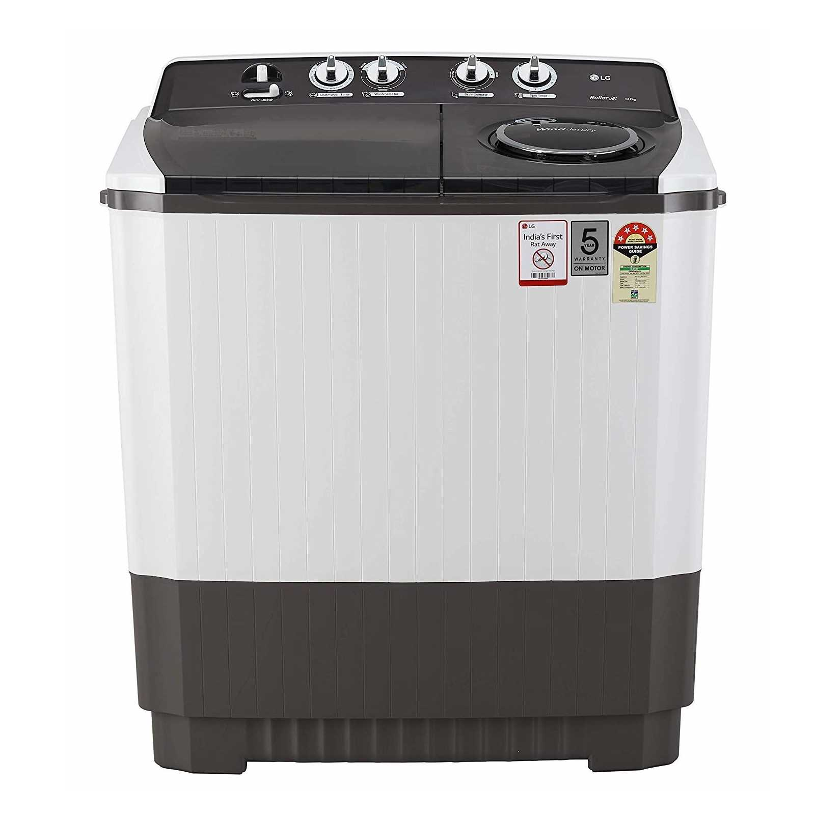 LG P1045SGAZ 10 Kg Semi Automatic Top Loading Washing Machine