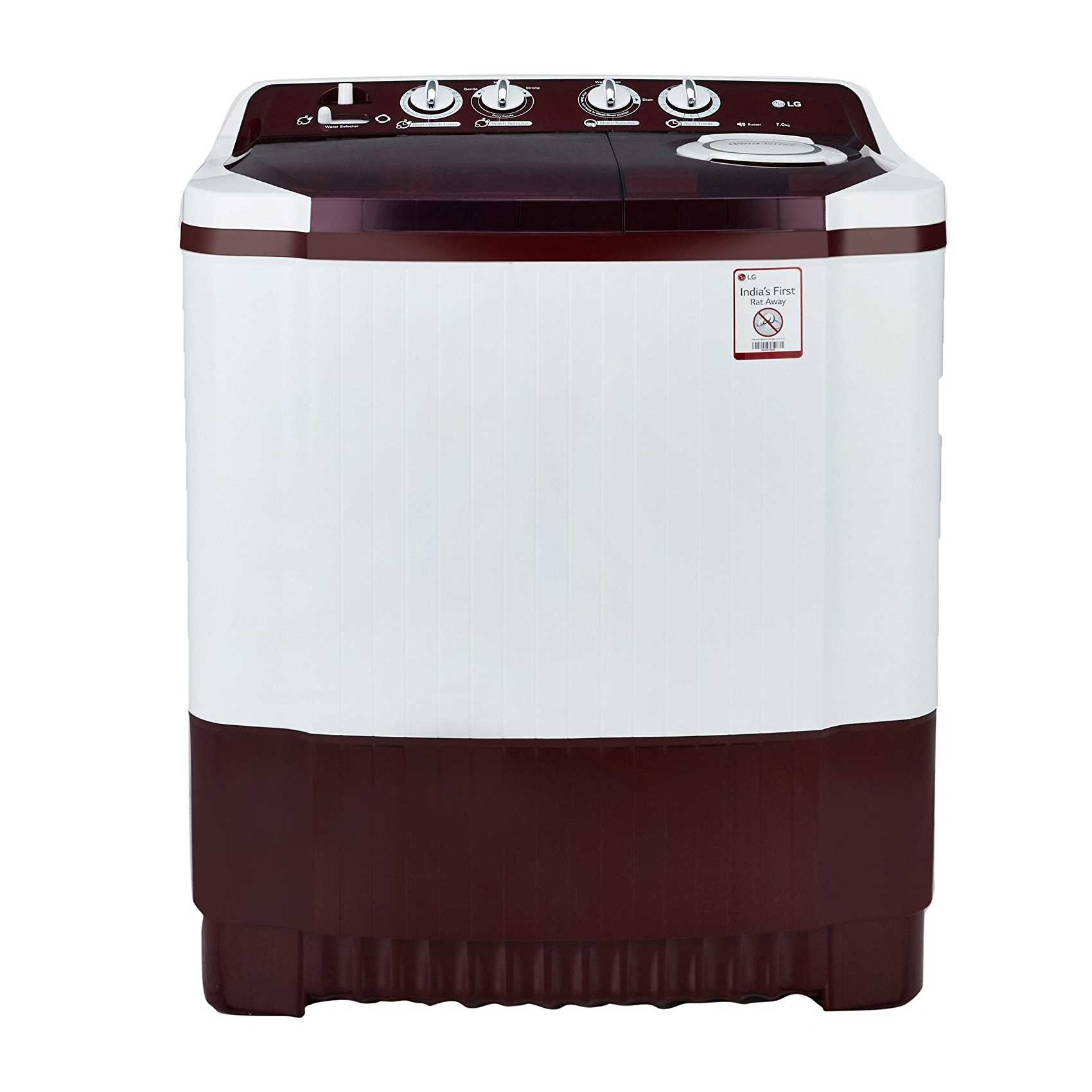 LG P8053R3SA 7 Kg Semi Automatic Top Loading Washing Machine