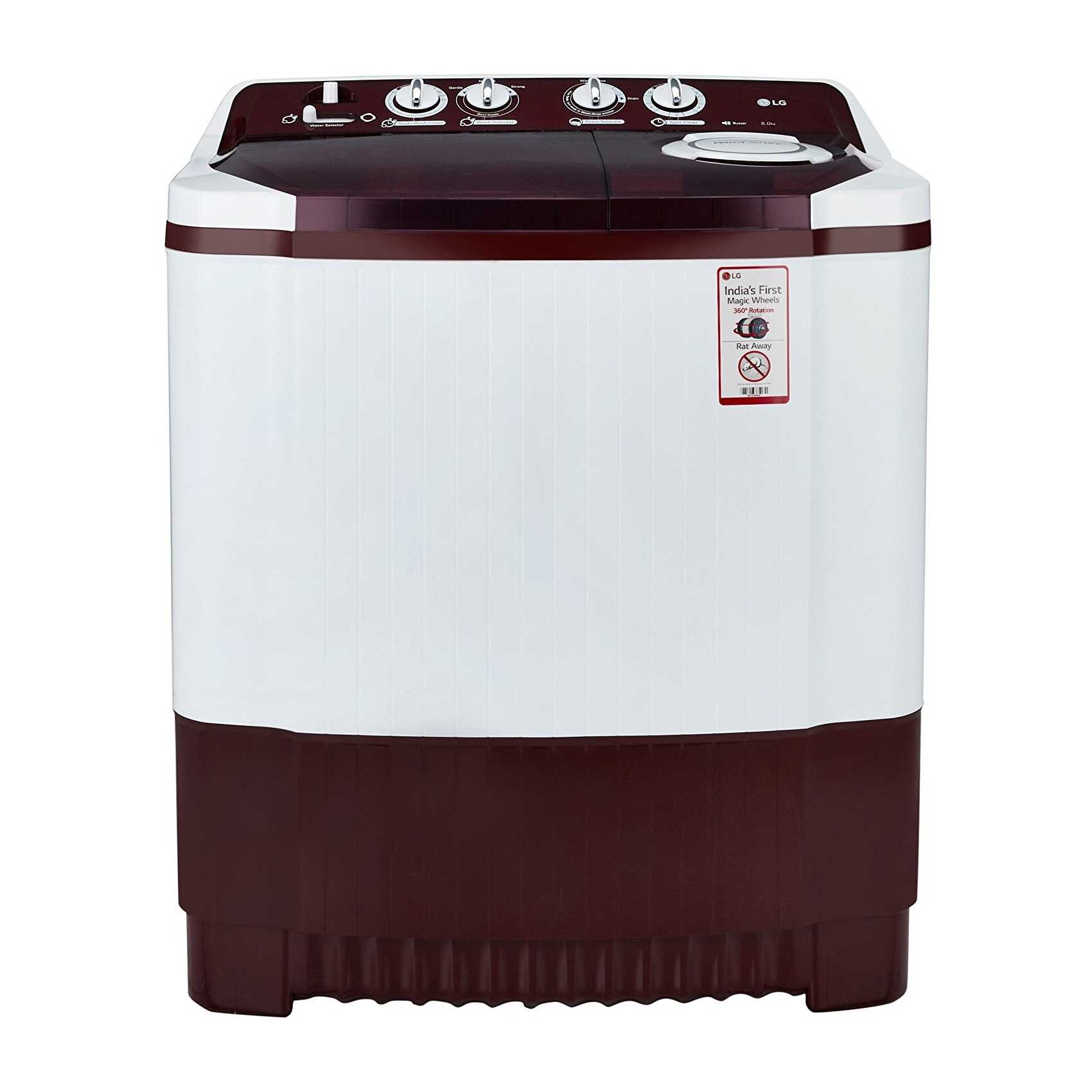 LG P9042R3SM 8 Kg Semi Automatic Top Loading Washing Machine