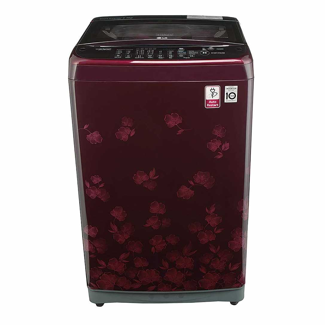 LG T7577NDDL8 6.5 Kg Fully Automatic Top Loading Washing Machine