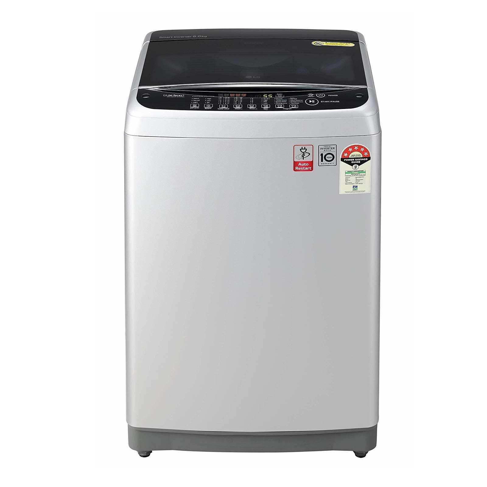 LG T80SJFS1Z 8 Kg Fully Automatic Top Loading Washing Machine