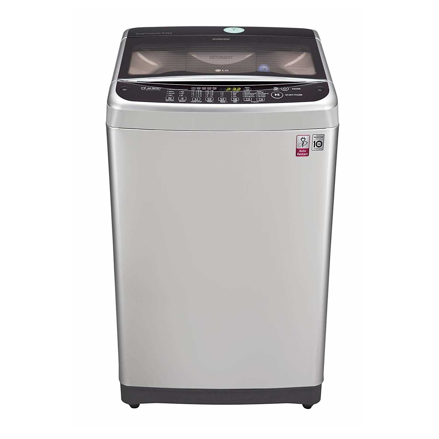 LG T9077NEDLY 8 Kg Fully Automatic Top Loading Washing Machine