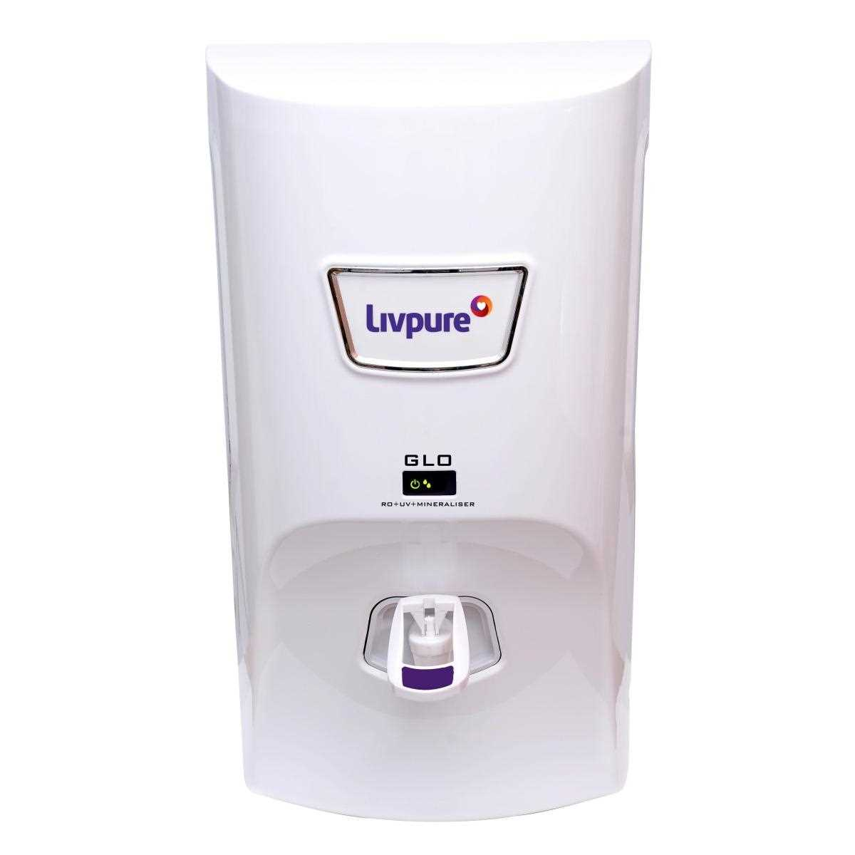 Livpure GLO 7 L RO UV Water Purifier