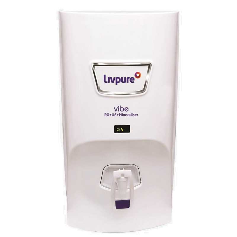 Livpure Vibe RO UF Mineraliser 7 L Water Purifier