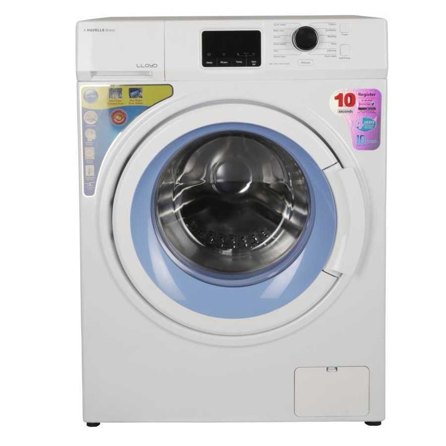 Lloyd LWMF70AW 7 Kg Fully Automatic Front Loading Washing Machine