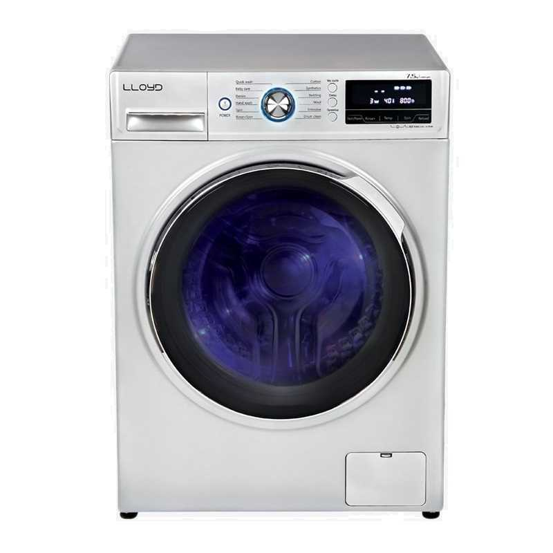 Lloyd LWMF75S 7.5 Kg Fully Automatic Front Loading Washing Machine