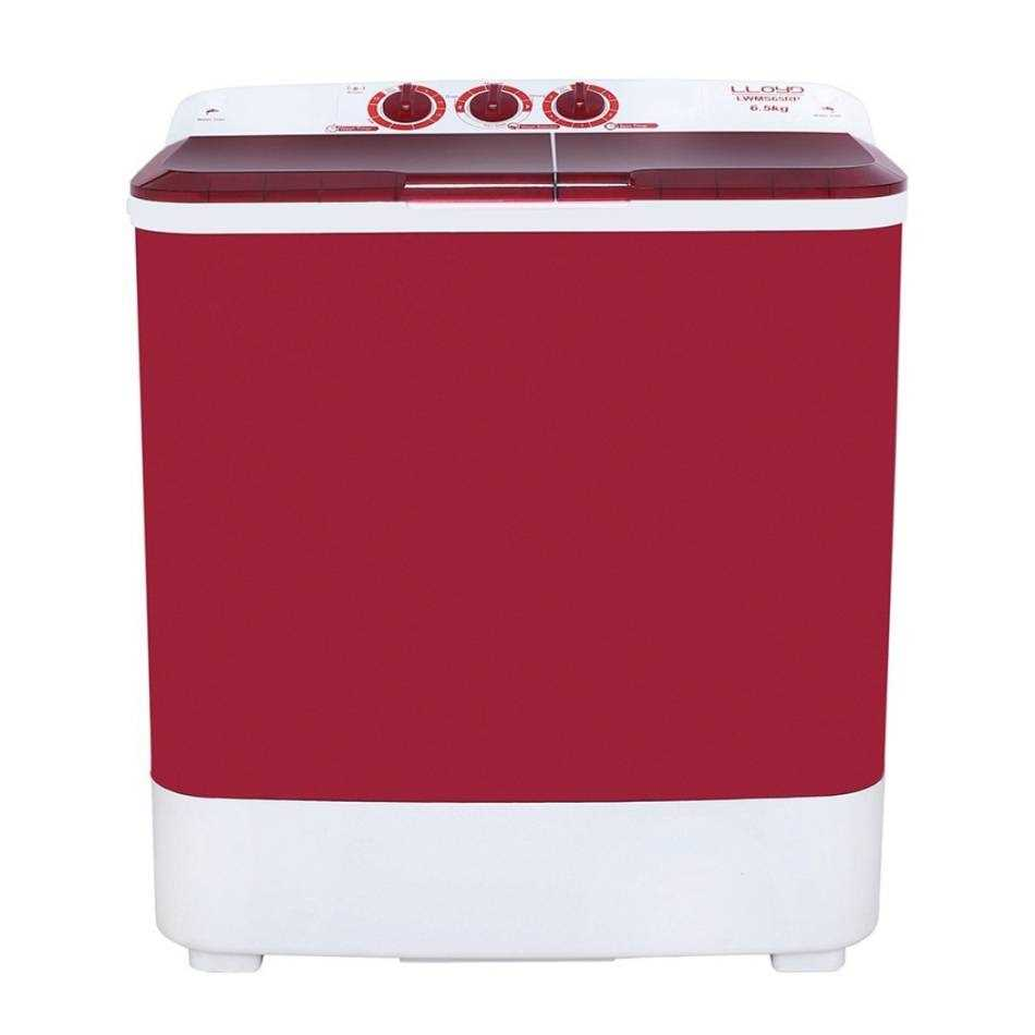 Lloyd LWMS65RP 6.5 Kg Semi Automatic Top Loading Washing Machine