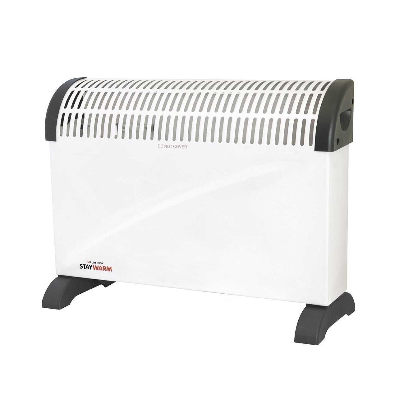 Lloytron Stay Warm F2403WH Convector Room Heater
