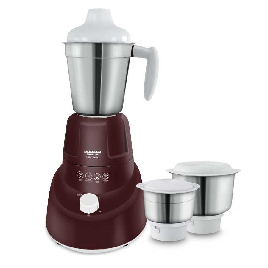 Maharaja Whiteline Turbo Twist MX-174 750 W Mixer Grinder