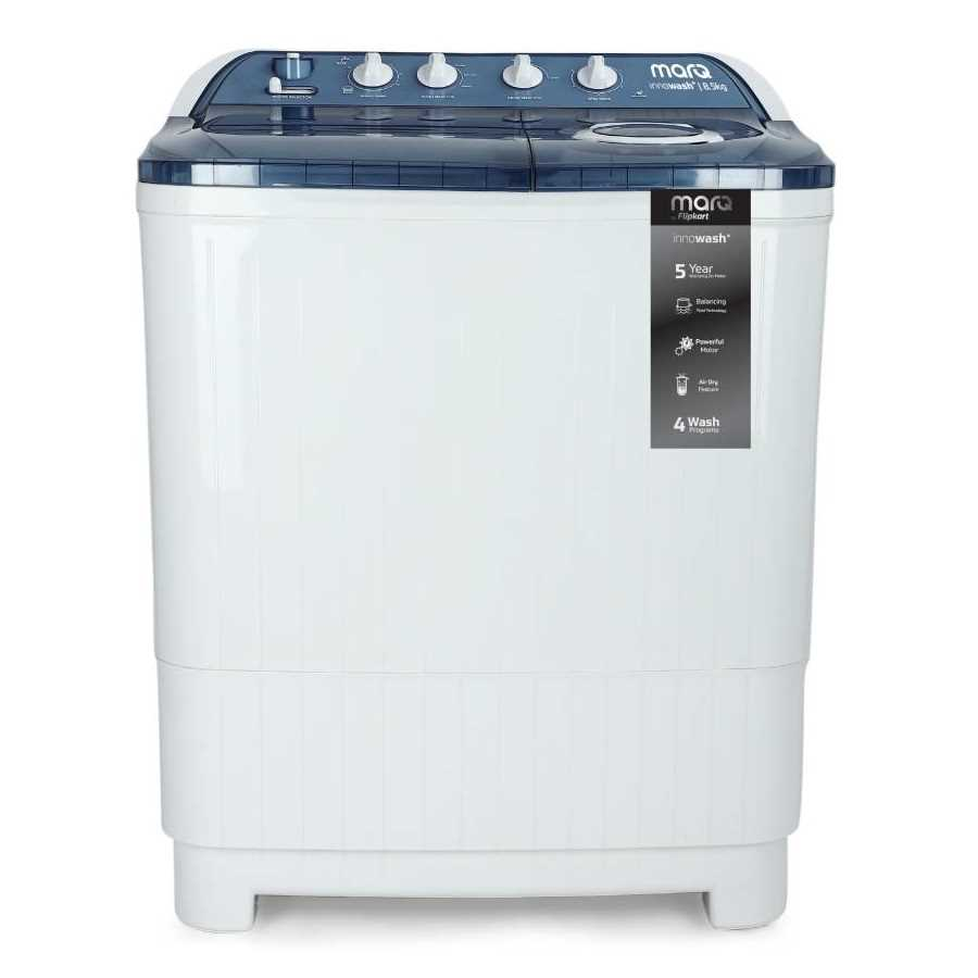 MarQ by Flipkart MQSA85DXI 8.5 Kg Semi Automatic Top Loading Washing Machine