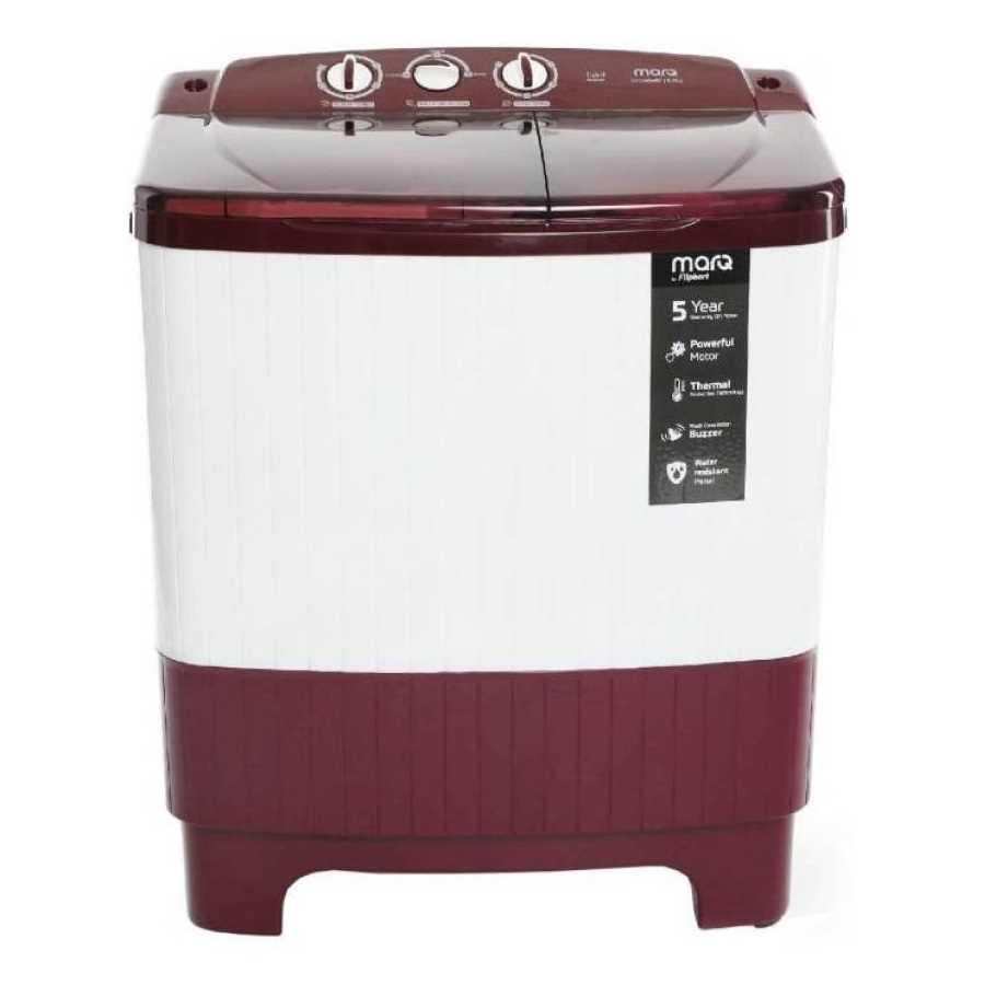 MarQ by Flipkart MQSADW62 6.2 Kg Semi Automatic Top Loading Washing Machine