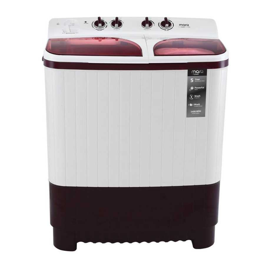 MarQ by Flipkart MQSAHM75 7.5 Kg Semi Automatic Top Loading Washing Machine