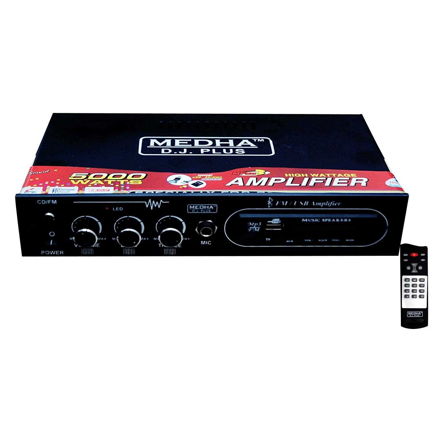 Amplifier Price List on {11 Aug 2019} | Amplifier Price in India