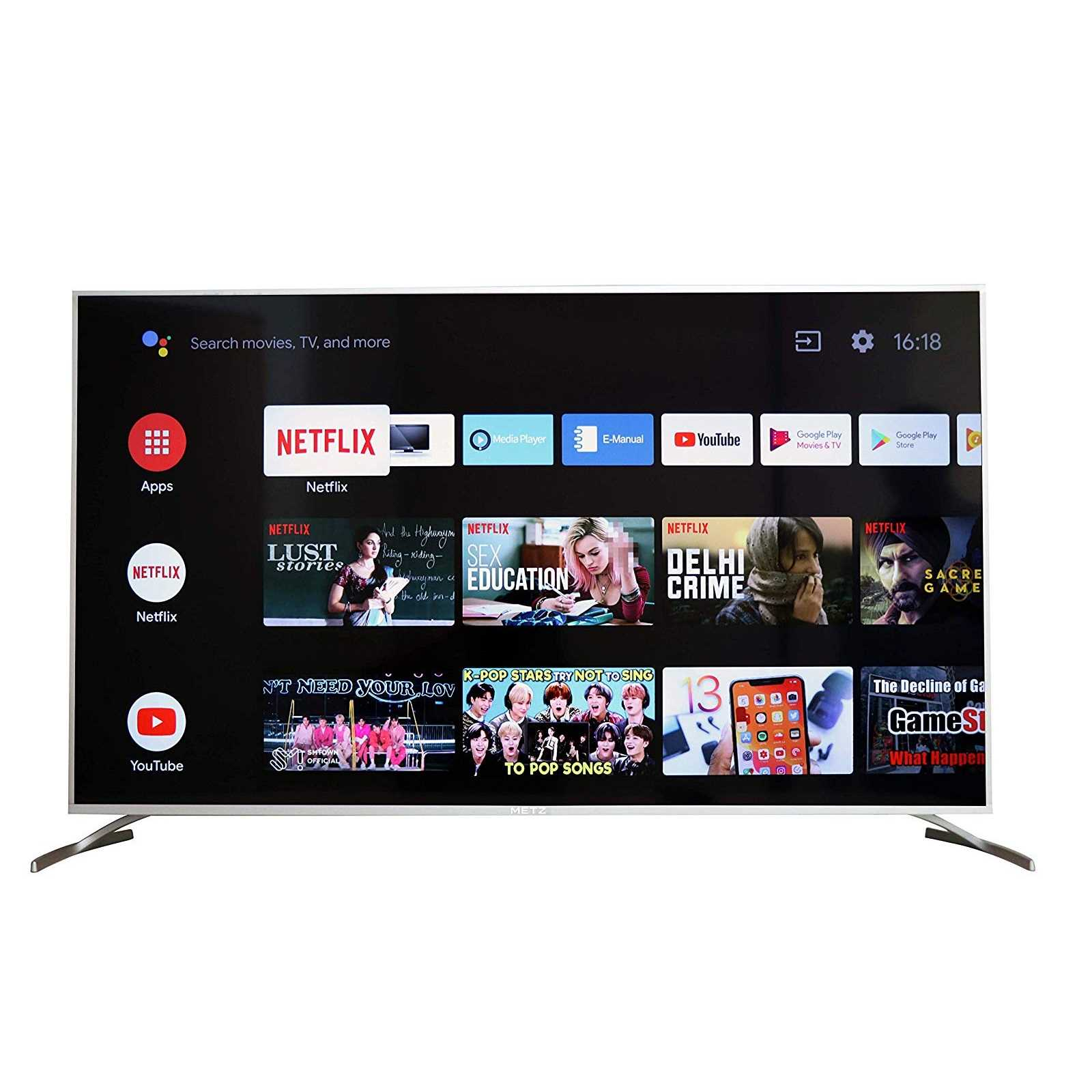 METZ M50G2 50 Inch 4K Ultra HD Smart Android LED Television