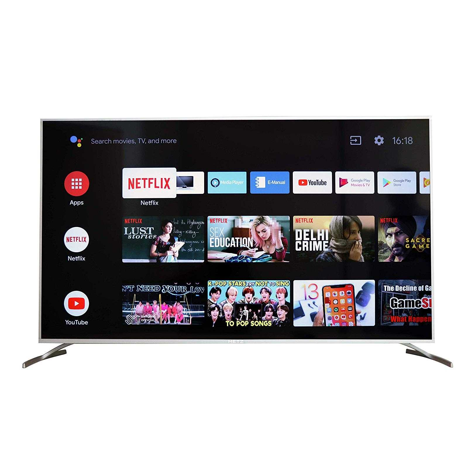 METZ M55G2 55 Inch 4K Ultra HD Smart Android LED Television