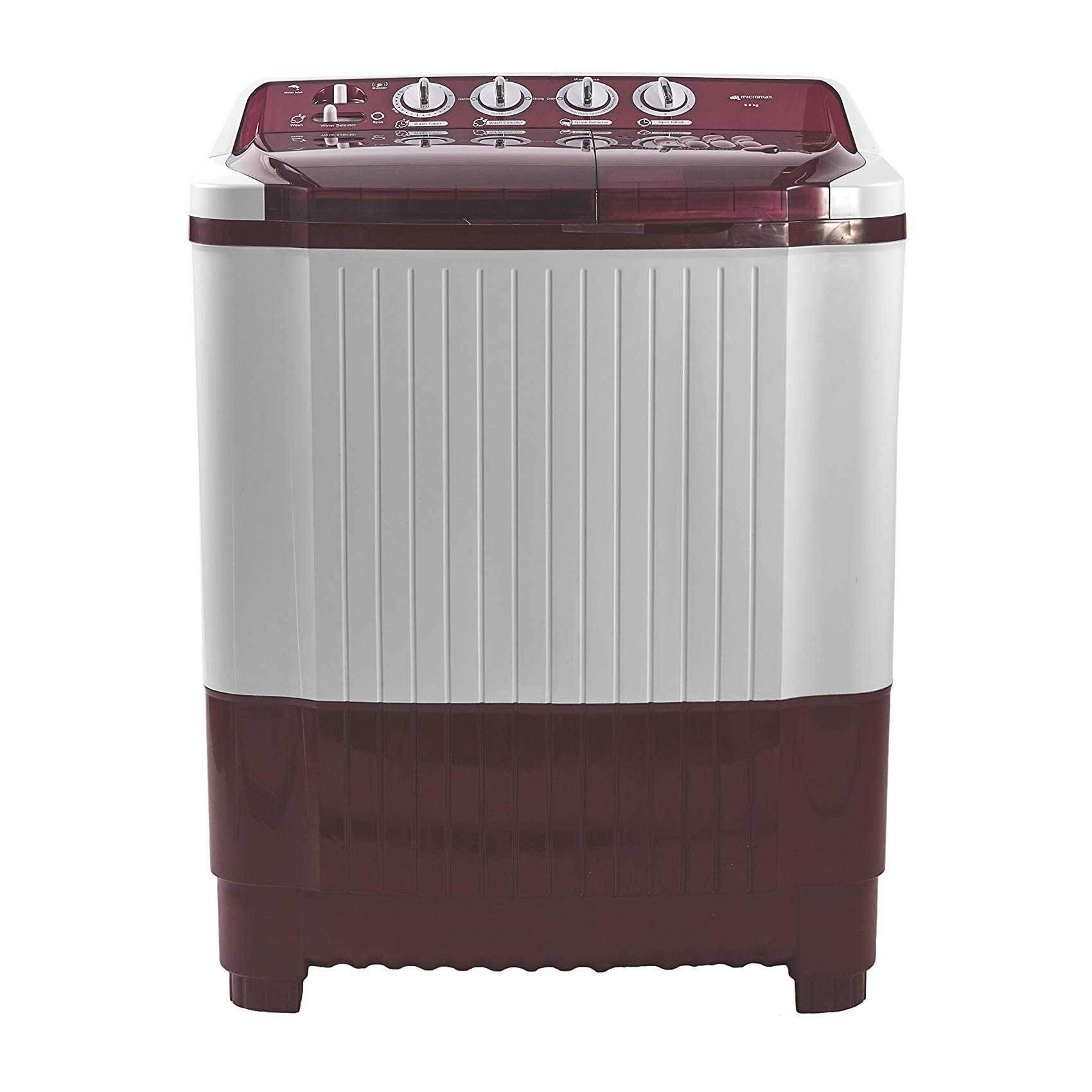 Micromax MWMSA855TVRS1 8.5 kg Semi Automatic Top Loading Washing Machine