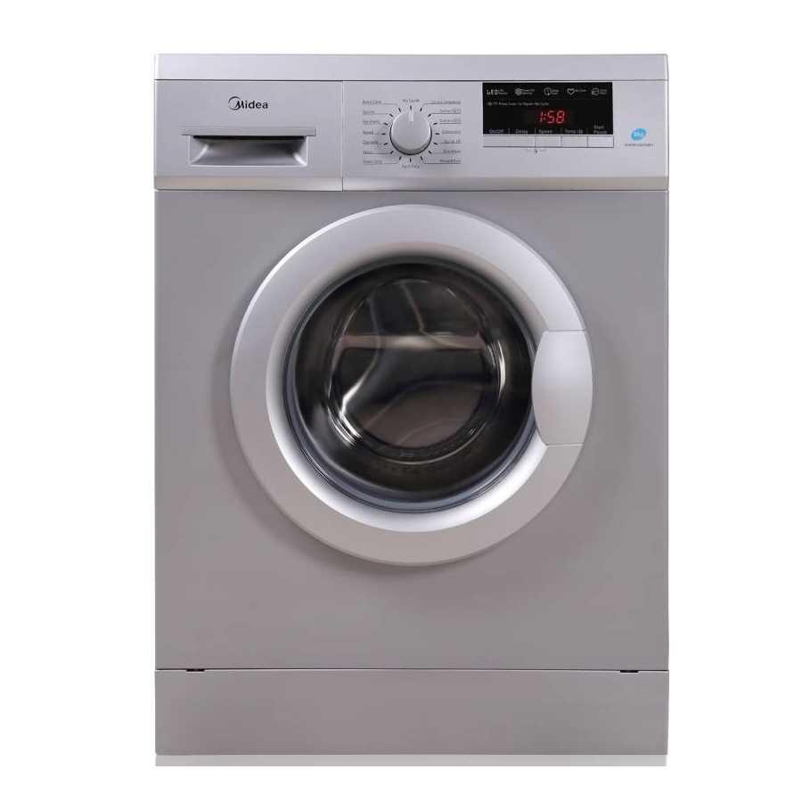 Midea MWMFL080GBFS 8 Kg Fully Automatic Front Loading Washing Machine