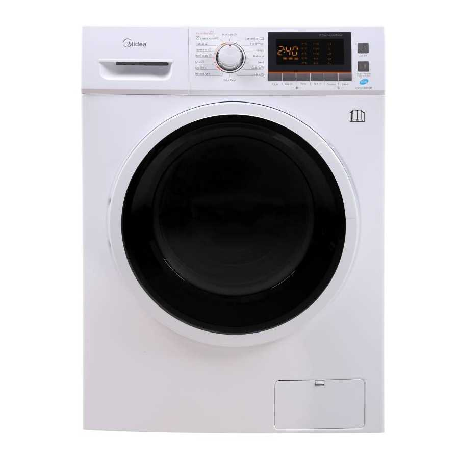 Midea MWMFL085COM 8.5 Kg Fully Automatic Front Loading Washing Machine