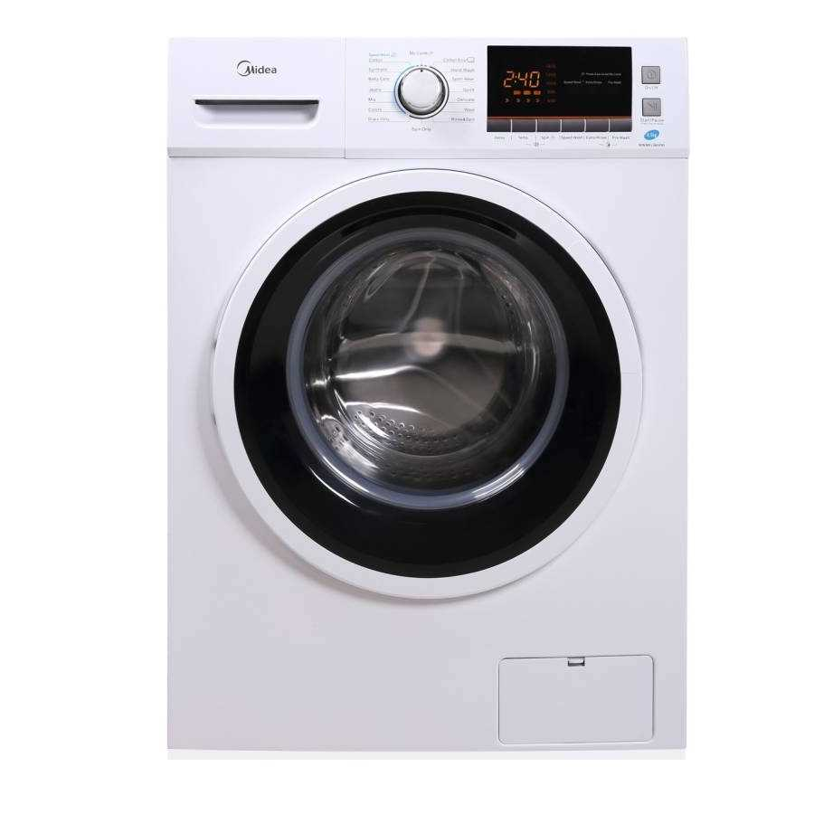 Midea MWMFL085PRF 8.5 Kg Fully Automatic Front Loading Washing Machine