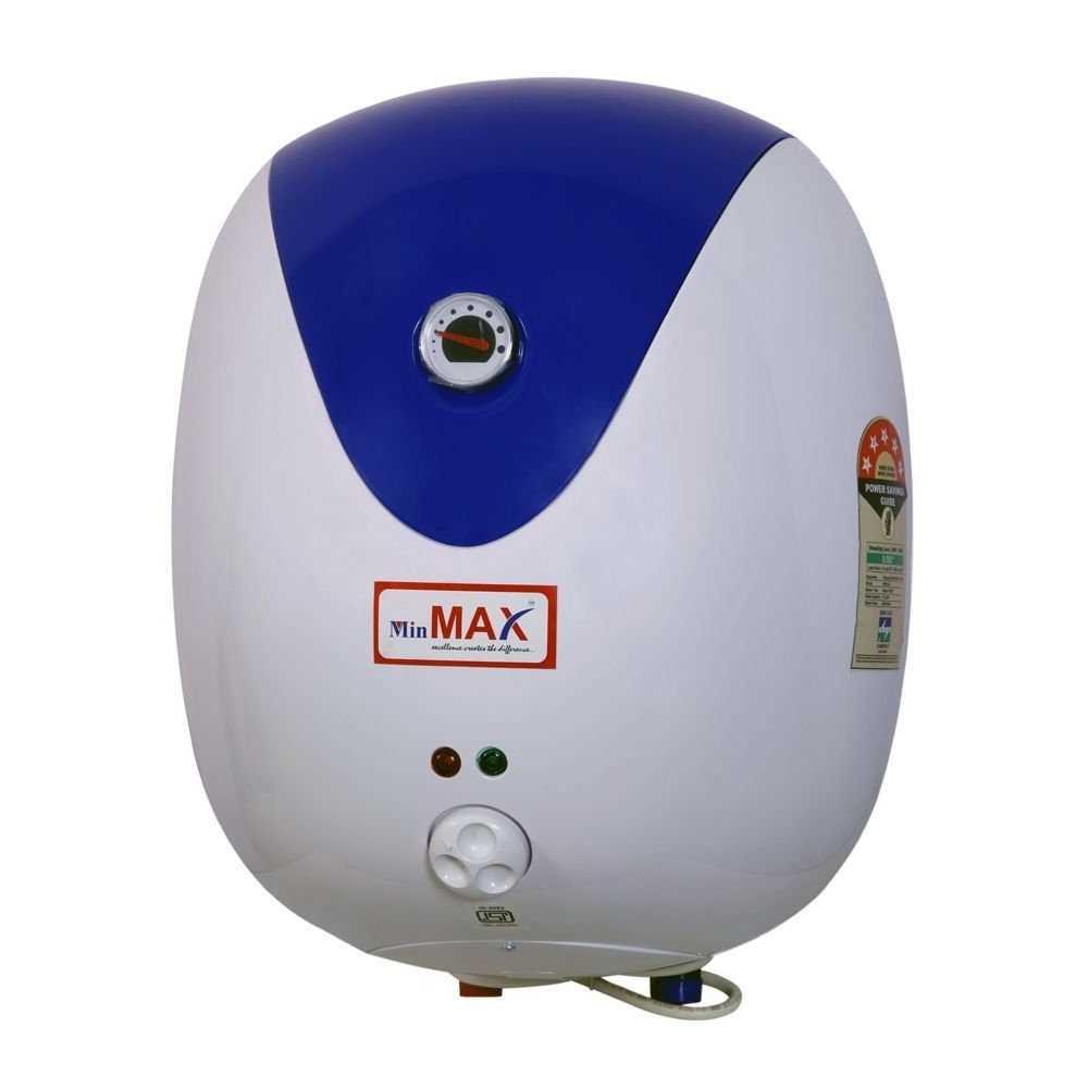 Min Max Ovel 15 Litre Storage Water Heater
