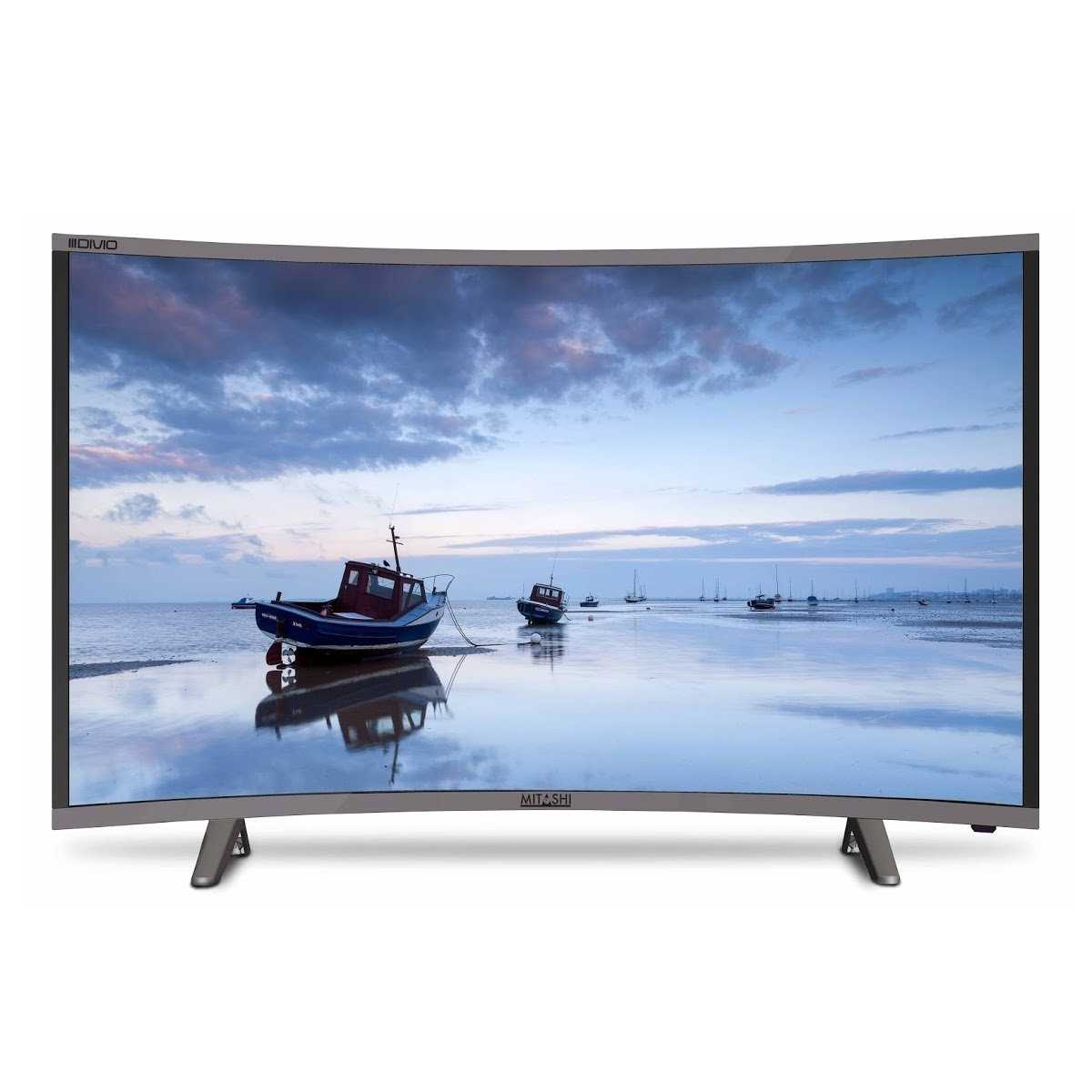 Mitashi MiCE032v30 HS 31.5 Inch HD Ready Smart Curved LED Television