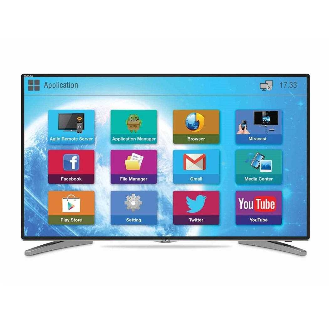 15343e886c7887 Mitashi MiDE043v20 43 Inch Full HD Smart LED Television Price  14 Feb 2019     MiDE043v20 Reviews and Specifications
